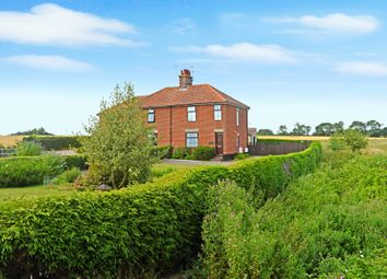 Thumbnail 3 bed semi-detached house for sale in London Road, Frostenden, Beccles