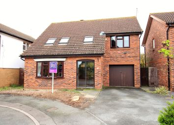 Thumbnail 4 bed detached house for sale in St. Marks Close, Evesham