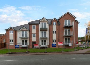Thumbnail 2 bed flat for sale in Bracken Close, Hednesford, Cannock