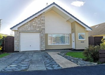 Thumbnail 2 bed detached bungalow for sale in Y Groesffordd, Bryncrug, Tywyn