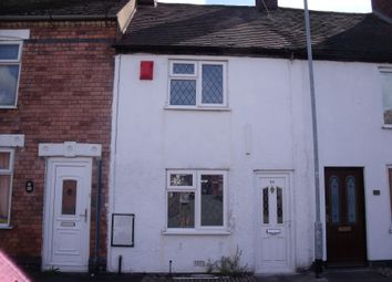 Thumbnail 2 bed terraced house to rent in New Street, Glascote, Tamworth, Staffordshire