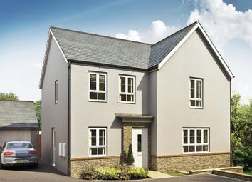 "Thumbnail 4 bed detached house for sale in ""Radleigh"" at Kimlers Way, St. Martin, Looe"