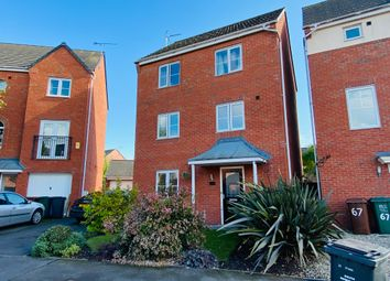 Thumbnail 3 bed detached house to rent in Trusley Brook, Hilton, Derby