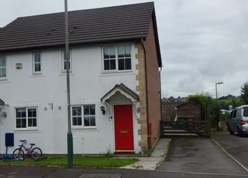 Thumbnail 2 bed end terrace house to rent in Ramson Close, Penpedairheol, Hengoed
