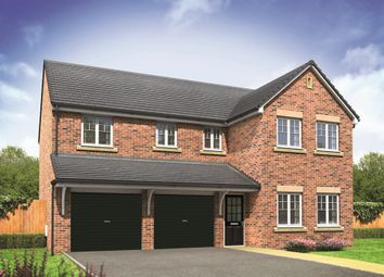 "Thumbnail 5 bed detached house for sale in ""The Fenchurch"" at Burwell Road, Exning, Newmarket"