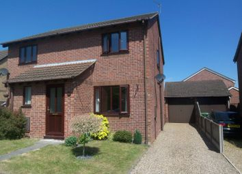 Thumbnail 2 bed semi-detached house to rent in Ullswater Drive, Hethersett