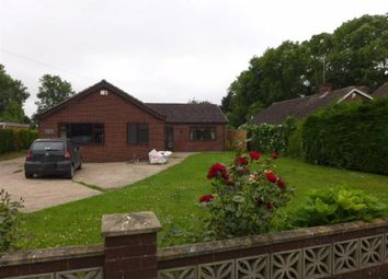 Thumbnail 4 bed bungalow to rent in Moor Road, North Owersby, Market Rasen