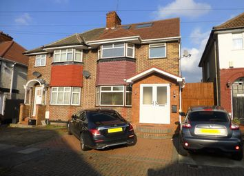 Thumbnail 4 bed semi-detached house for sale in Tudor Court North, Wembley