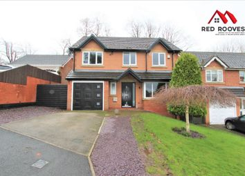 Thumbnail 4 bedroom detached house for sale in Rushgreen Close, Prenton