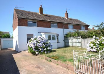 Thumbnail 3 bed semi-detached house for sale in Dukes Road, Budleigh Salterton, Devon