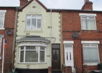 Thumbnail 2 bed terraced house to rent in Ivanhoe Road, Conisbrough, Doncaster