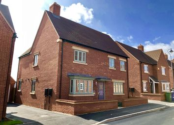 """Thumbnail 4 bed detached house for sale in """"Alnwick"""" at Halse Road, Brackley"""