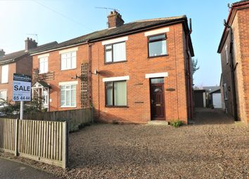 Thumbnail 3 bedroom semi-detached house for sale in Crown Road, Dereham