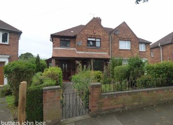 Thumbnail 3 bed semi-detached house for sale in Selworthy Drive, Crewe