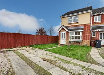 Thumbnail 2 bed terraced house for sale in Harlequin Drive, Kingswood, Hull