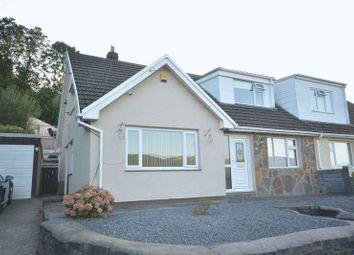 Thumbnail 3 bed semi-detached bungalow for sale in Hillcrest Avenue, Aberaman, Aberdare