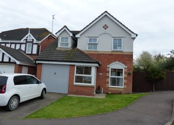 Thumbnail 3 bed detached house for sale in Peckover Close, Stanground