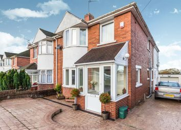 Thumbnail 3 bed semi-detached house for sale in St. Lythans Road, Barry