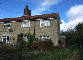 Thumbnail 3 bed semi-detached house for sale in Sporle, King's Lynn, Norfolk