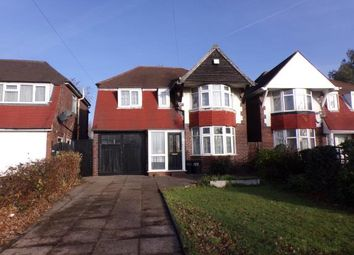 Thumbnail 4 bed detached house for sale in Chester Road, Pype Hayes, Birmingham, West Midlands