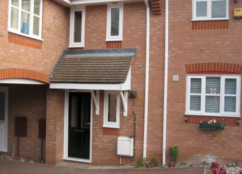 Thumbnail 1 bed terraced house to rent in Haselmere Close, Bury St. Edmunds