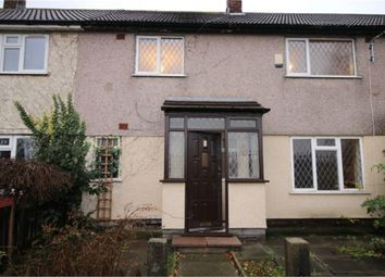 Thumbnail 3 bed terraced house for sale in Southwark Grove, Bootle, Merseyside