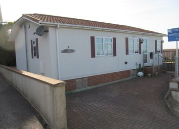 Thumbnail 2 bed mobile/park home for sale in Walton Bay Park (Ref 5279), Clevedon, Bristol, North Somerset