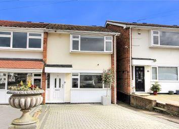 Thumbnail 3 bed end terrace house for sale in The Poplars, Abridge, Romford