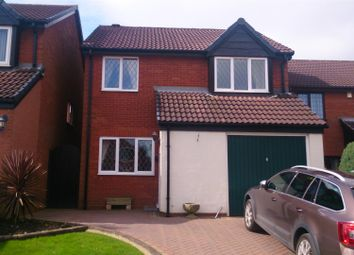 Thumbnail 4 bed detached house for sale in Clover Ridge, Cheslyn Hay, Walsall