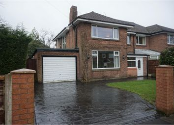 Thumbnail 4 bedroom semi-detached house for sale in Rushyfield Crescent, Romiley