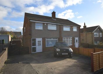 Thumbnail 3 bed semi-detached house for sale in Holmwood Avenue, Leeds, West Yorkshire