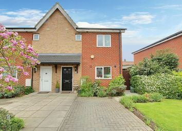 Thumbnail 3 bed semi-detached house for sale in Huntingdon Close, Northolt