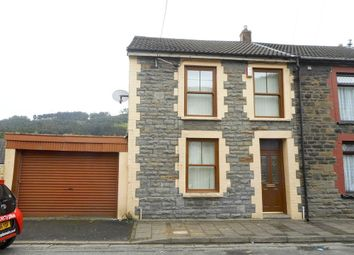 Thumbnail 3 bed end terrace house for sale in Cwmparc -, Treorchy