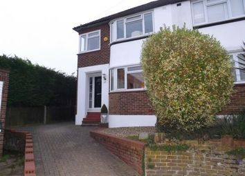 Thumbnail 3 bed semi-detached house for sale in Swain Close, Rochester, Kent