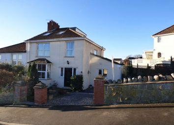 Thumbnail 4 bed semi-detached house for sale in Milton Park Road, Milton, Weston-Super-Mare