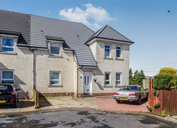 Thumbnail 3 bed flat for sale in Birch Crescent, Busby, Glasgow