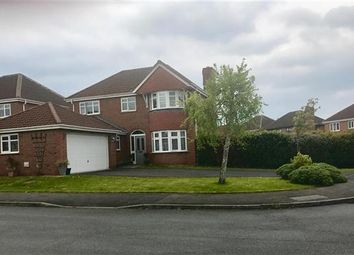 Thumbnail 4 bed detached house for sale in Belle Field Close, Penwortham, Preston