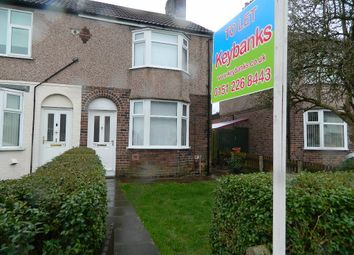 Thumbnail 3 bed end terrace house to rent in Haydn Road, Dovecot, Liverpool