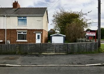 Thumbnail 2 bed semi-detached house for sale in The Crescent, Langley Park, Durham
