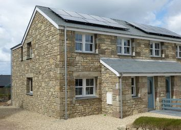 Thumbnail 3 bed semi-detached house for sale in Boscaswell Downs, Pendeen, Penzance