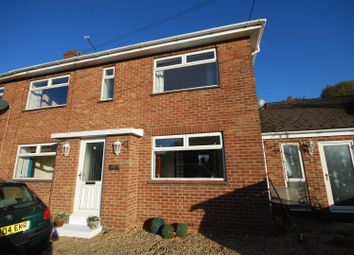 Thumbnail 3 bed semi-detached house to rent in Hall Lane, Moulton Seas End, Spalding