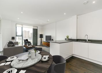 Thumbnail 3 bed flat to rent in Silverwood Place, London