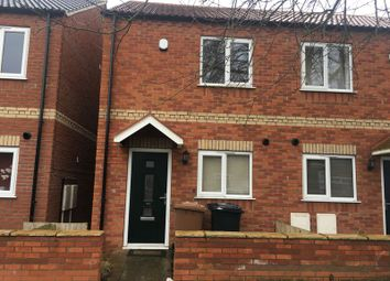 Thumbnail 2 bed semi-detached house to rent in Queen Elizabeth Road, Lincoln
