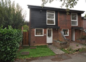 Thumbnail 2 bed end terrace house to rent in Howard Drive, Letchworth Garden City