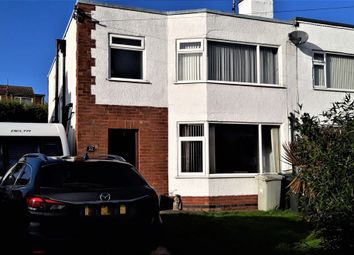 Thumbnail 3 bed semi-detached house for sale in Castleton Crescent, Skegness