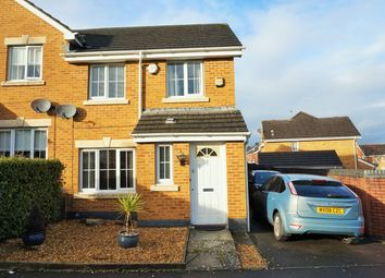 Thumbnail 3 bed semi-detached house for sale in Murrel Close, Cardiff