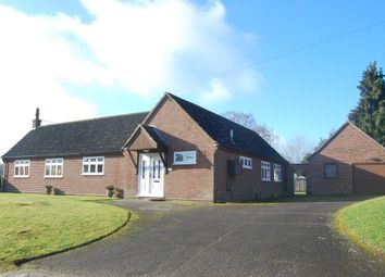 Thumbnail 2 bed detached bungalow for sale in The Street, Little Bealings, Woodbridge