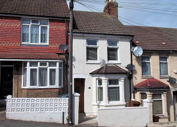 Thumbnail 2 bed terraced house for sale in Dagmar Road, Chatham