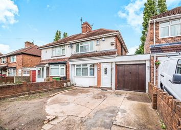 Thumbnail 3 bed semi-detached house for sale in Carlton Avenue, Wednesfield, Wolverhampton