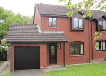 Thumbnail 3 bed property to rent in Whitebeam Close, Exeter